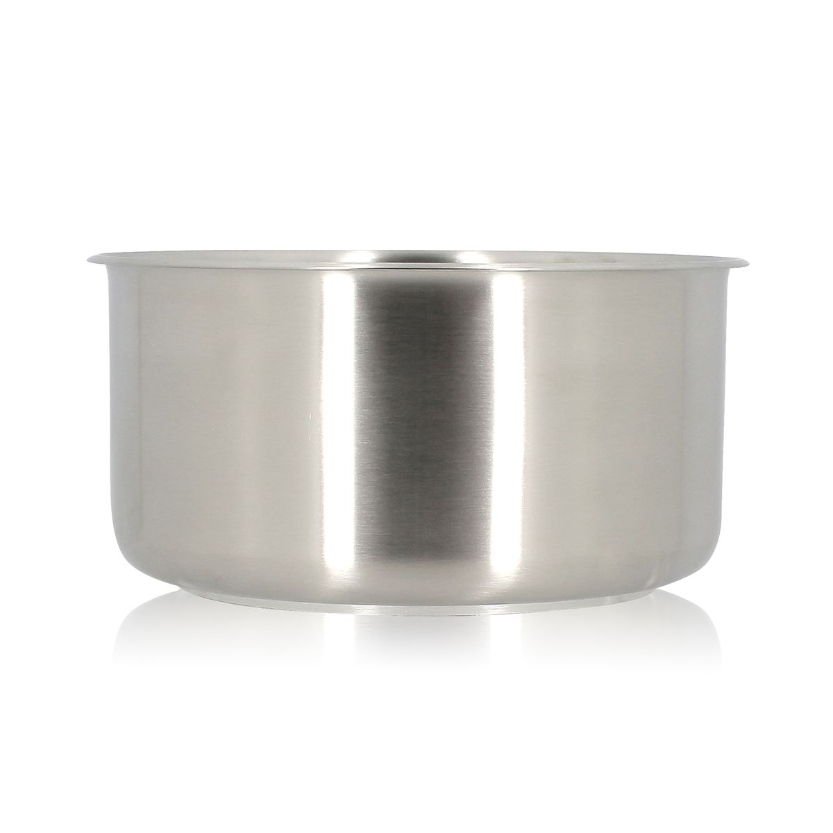 Casserole amovible en inox et induction 18 cm