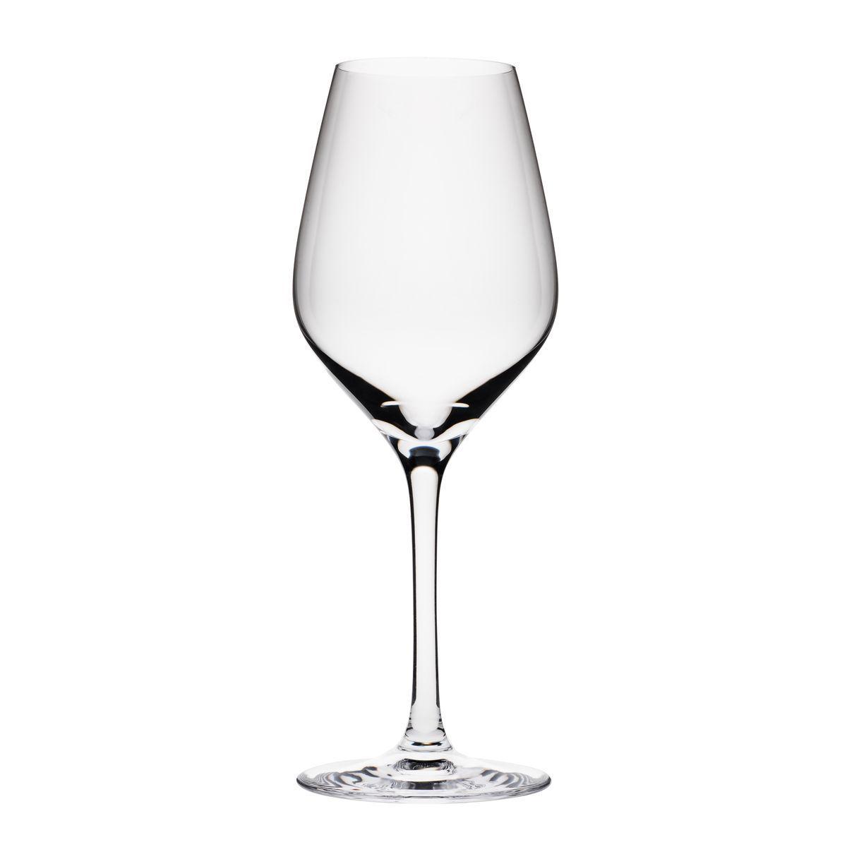 Boîte de 6 verres à vin en cristallin 25 cl