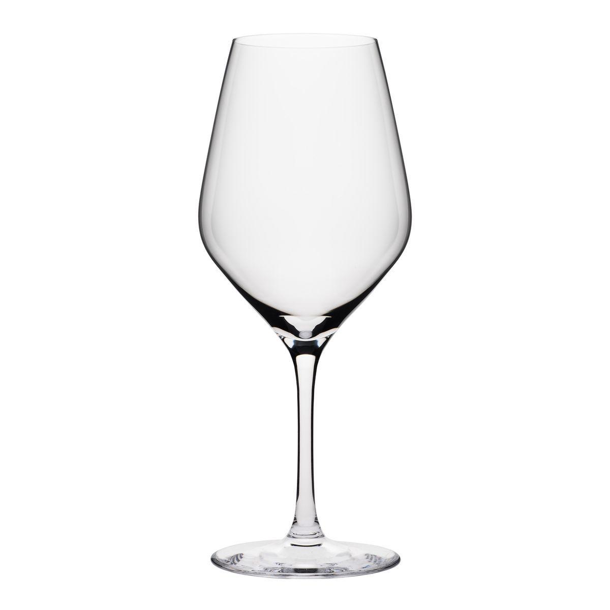 Boîte de 6 verres à pied en cristallin 48 cl