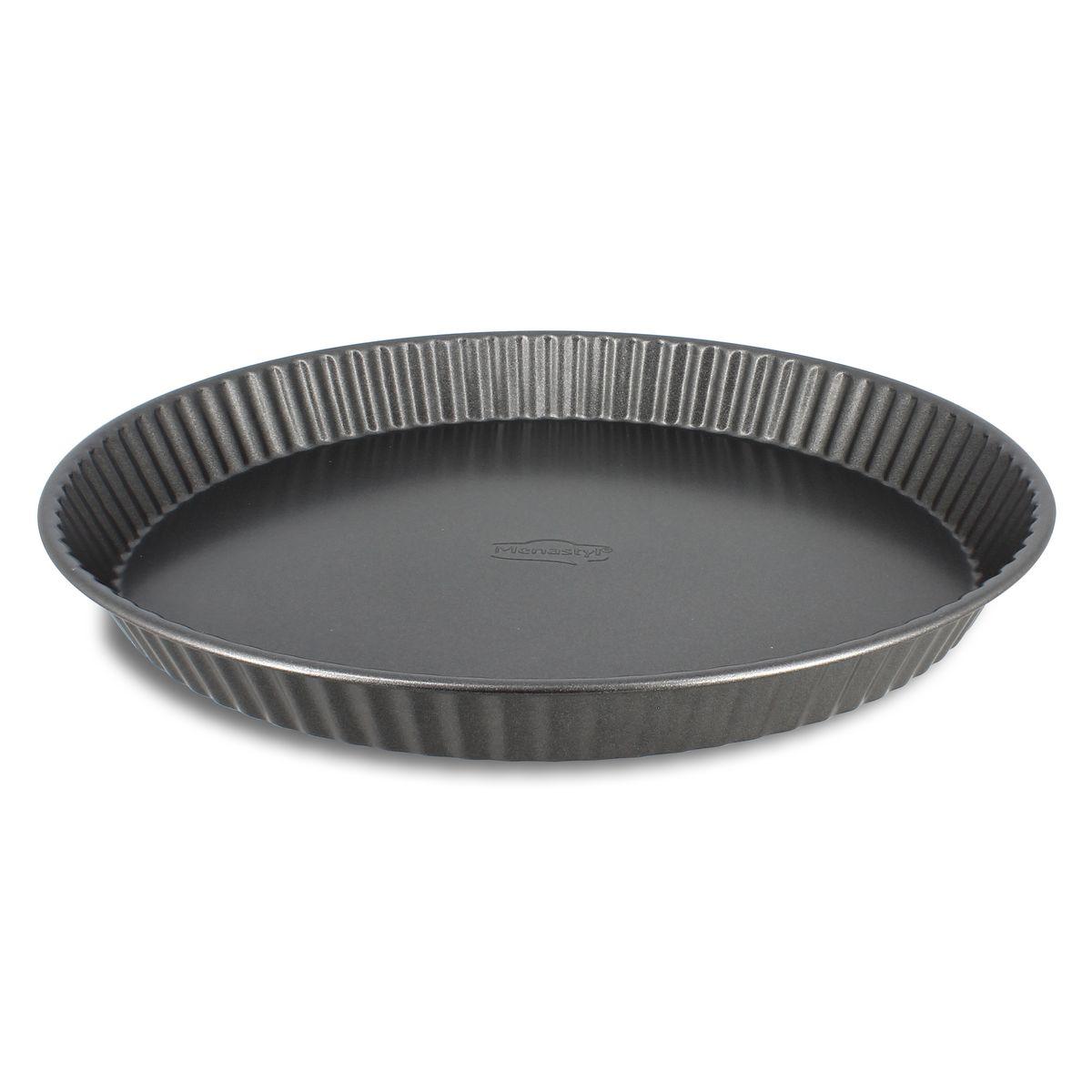 Moule à tarte en acier carbone 32 cm