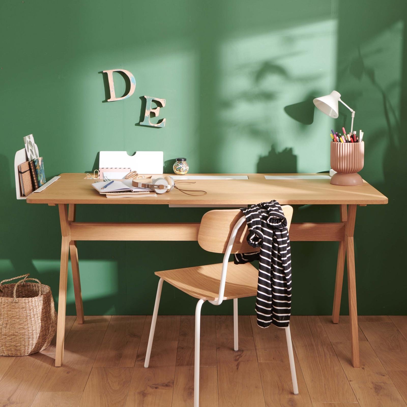 Bureau scandinave 150 cm bois