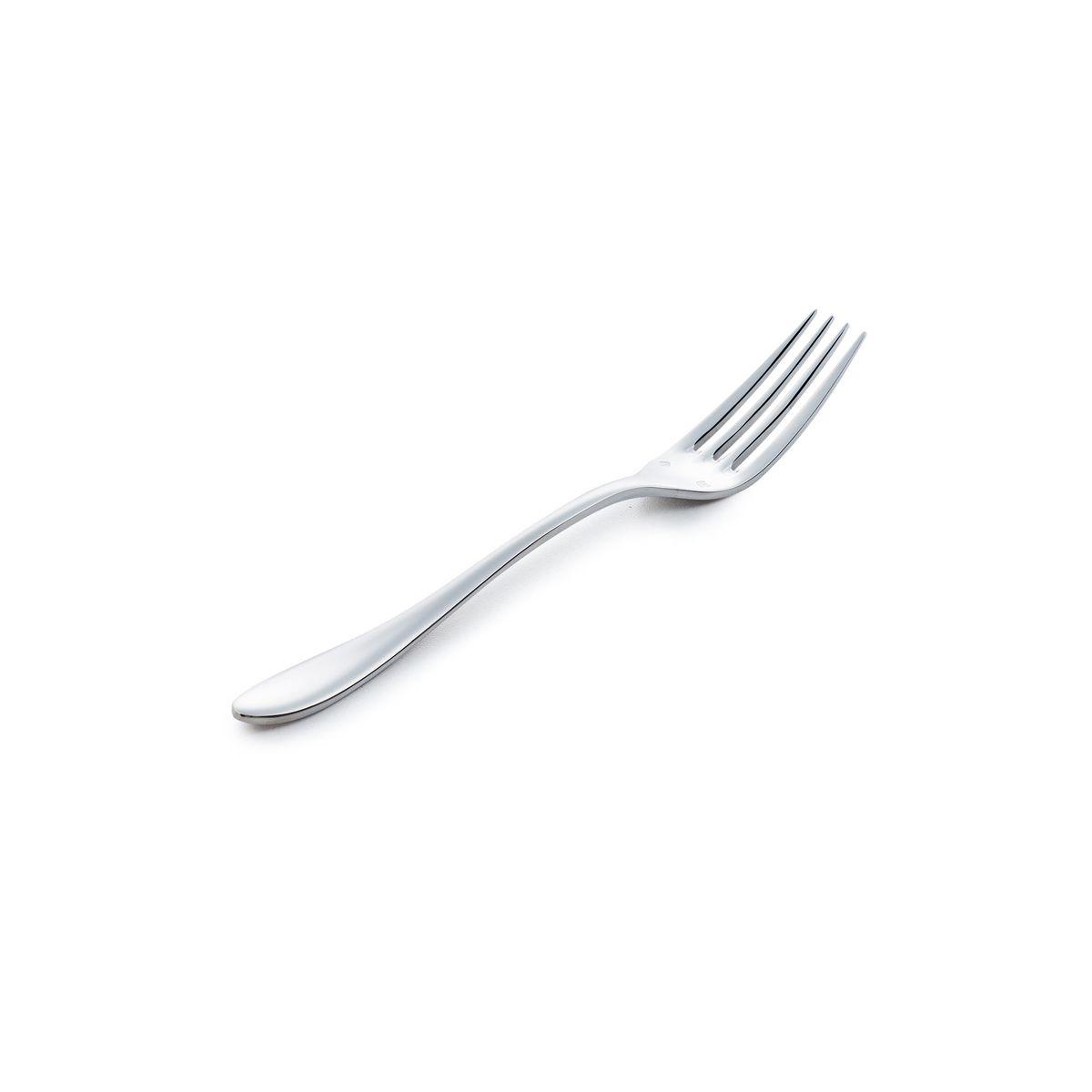 Fourchette de table en inox - Lot de 12