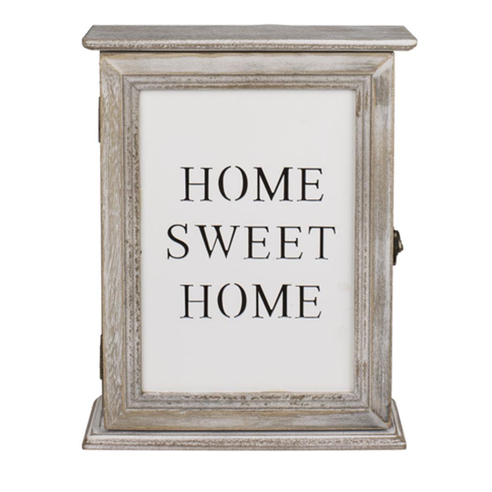 Boîte rectangulaire à clefs Home 26,5X20cm