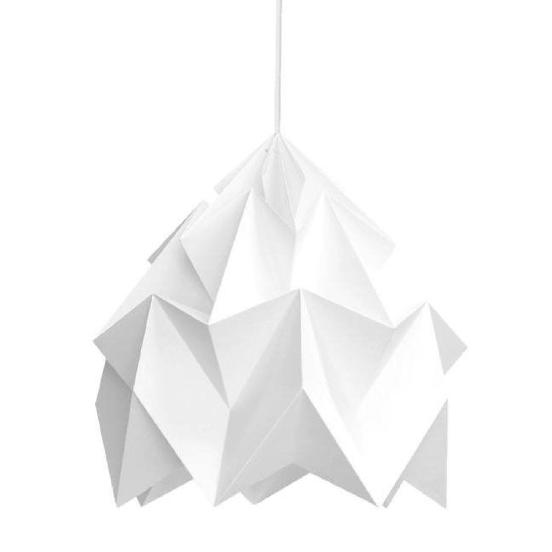 Suspension XL en papier blanc D40cm