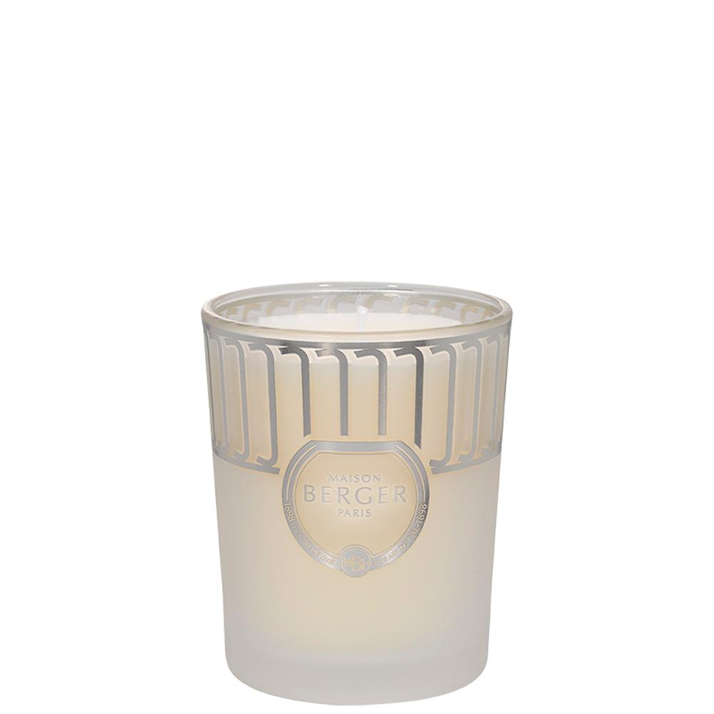 Bougie Land Blanc Givré parfum Thé Blanc Pureté