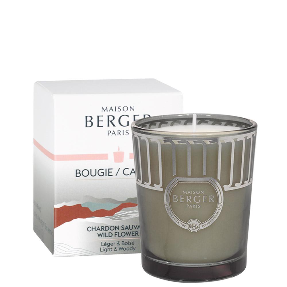 Bougie Land Vert Mousse parfum Chardon Sauvage