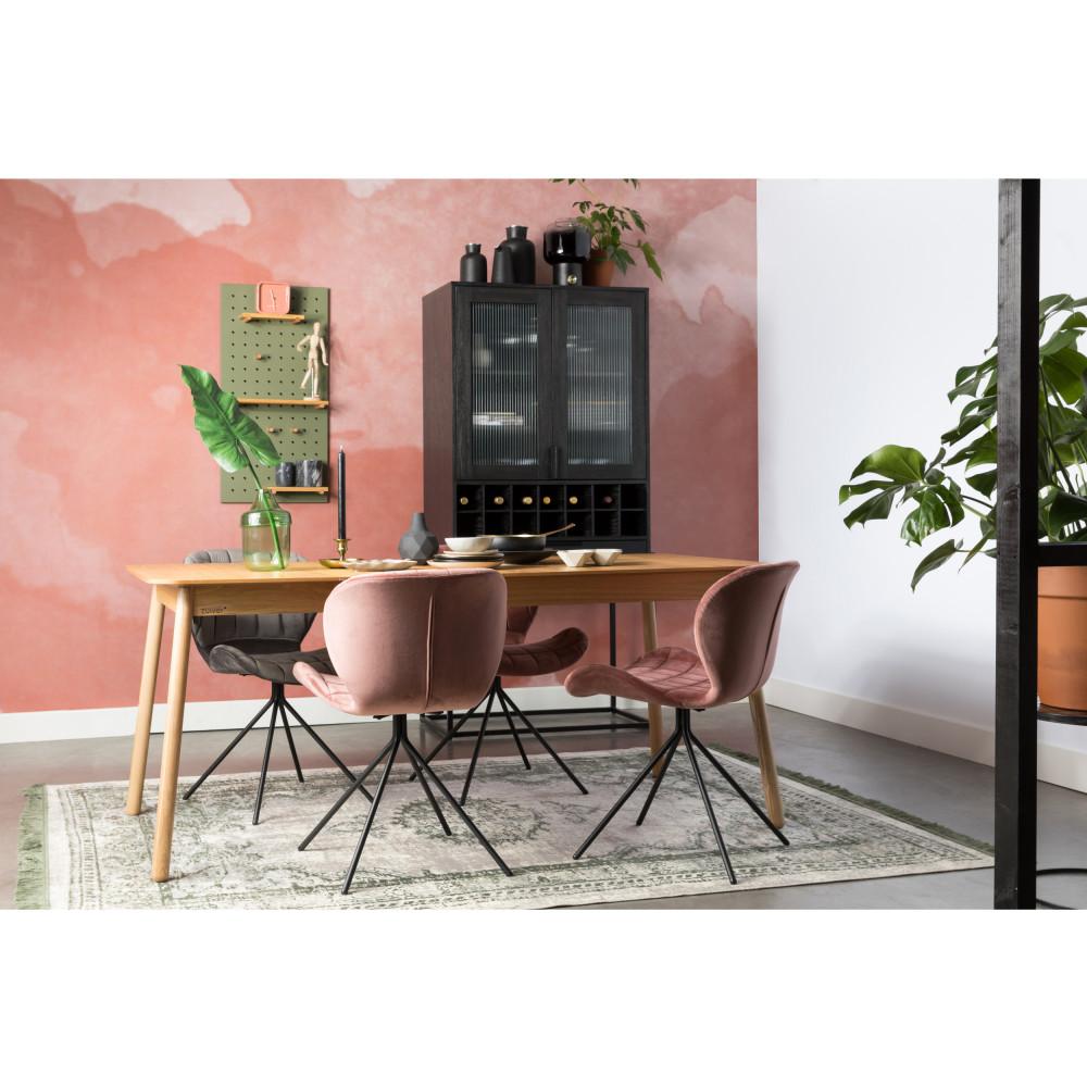Table à manger extensible en bois 180-240x90cm