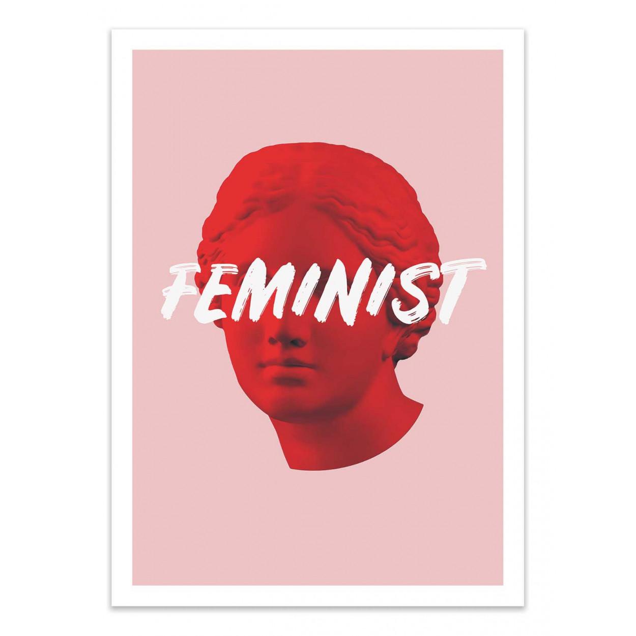 VENUS FEMINIST - RUBY AND B -  Affiche d'art 50 x 70 cm