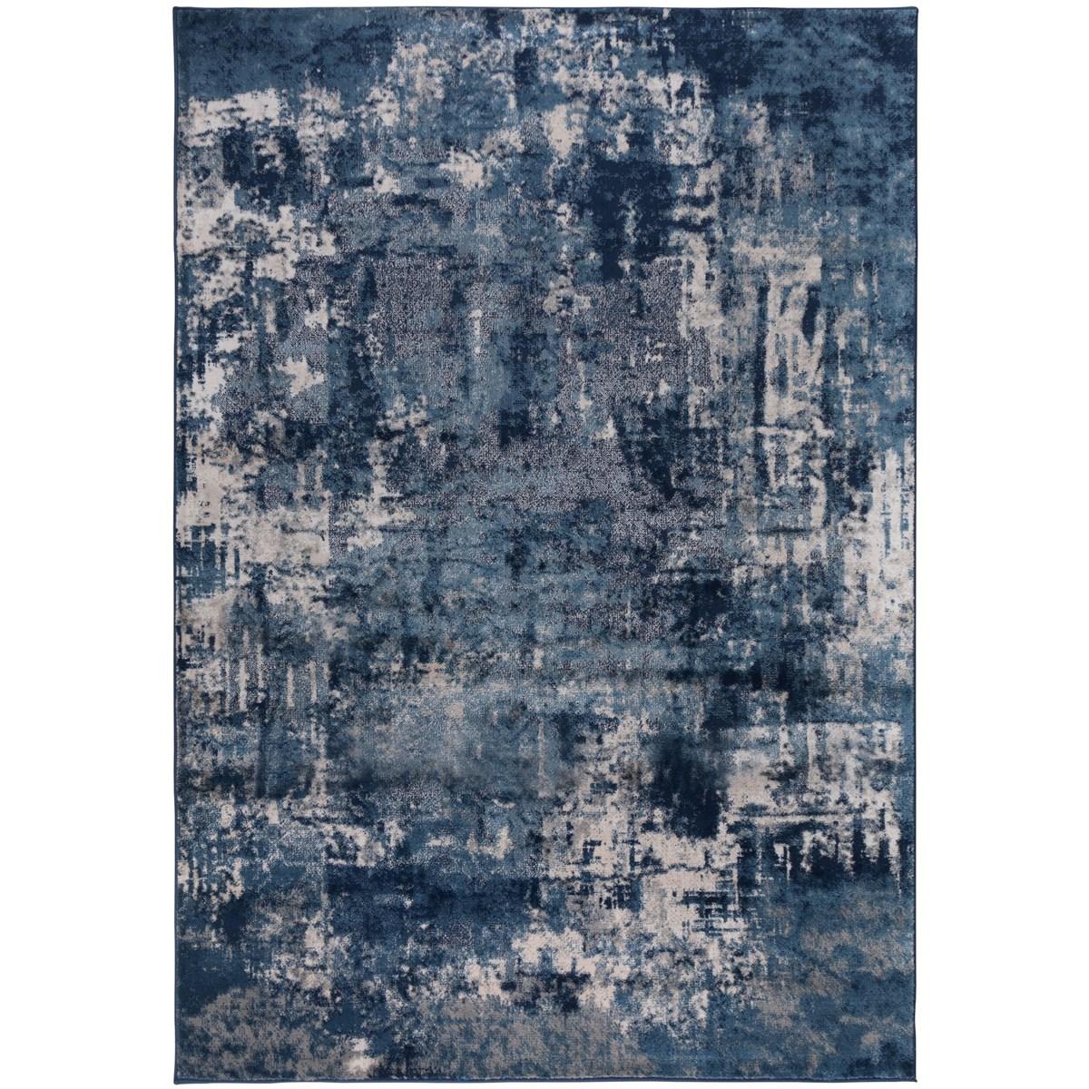 Tapis de salon en Polypropylène Bleu 200x290 cm