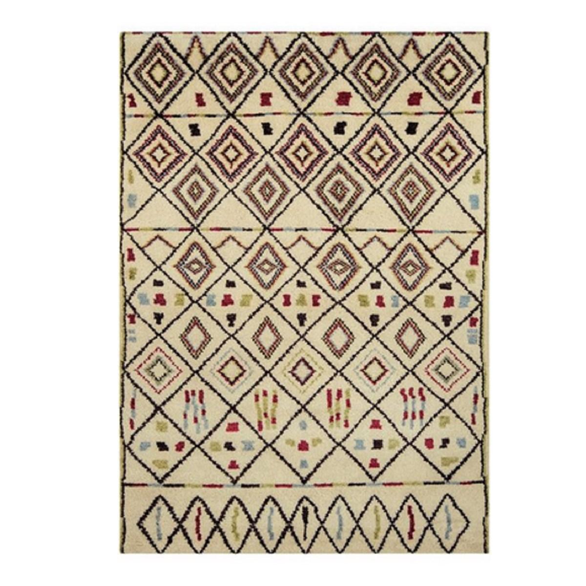Tapis style berbère en Laine Multicolore 120x170 cm