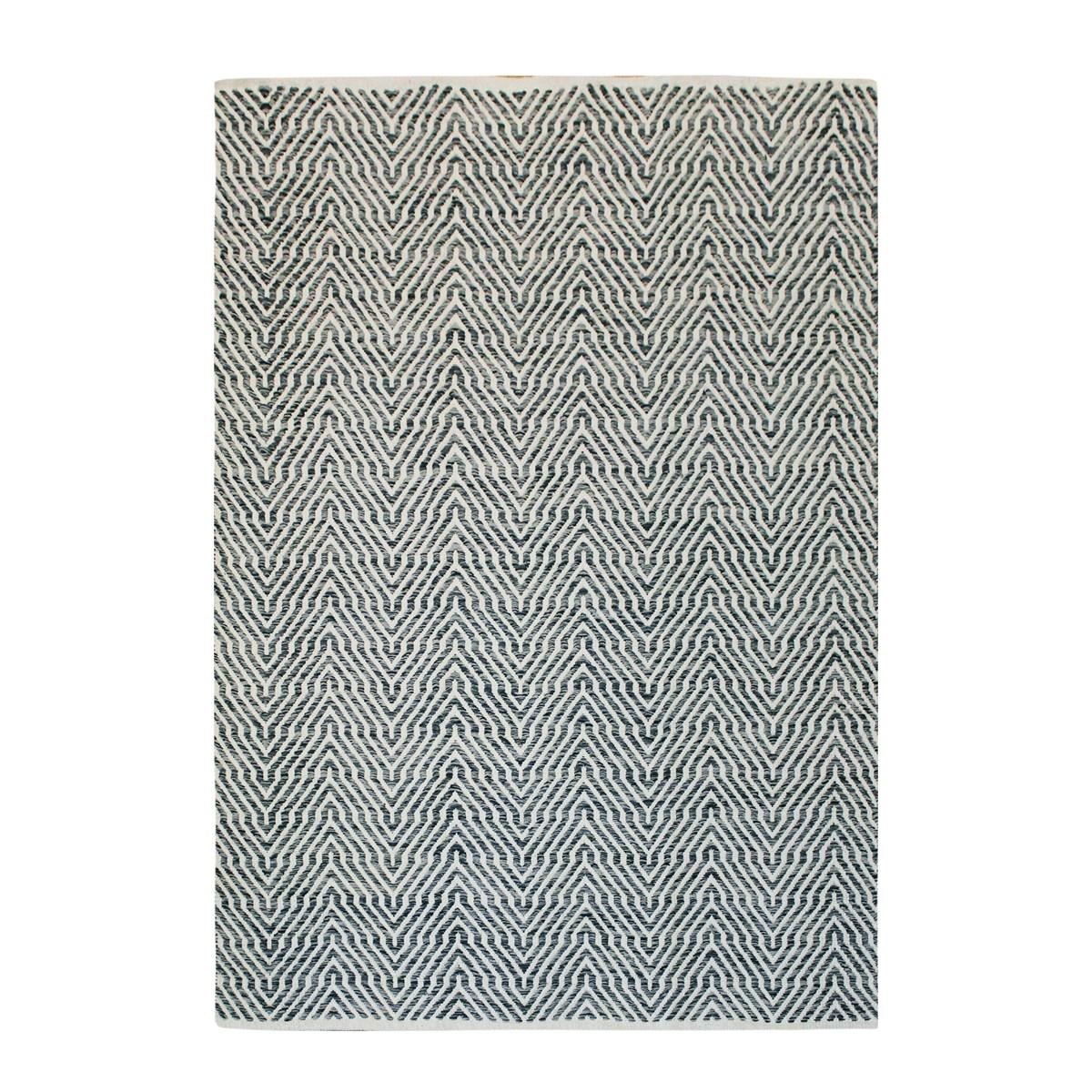 Tapis design en Coton Gris 120x170 cm