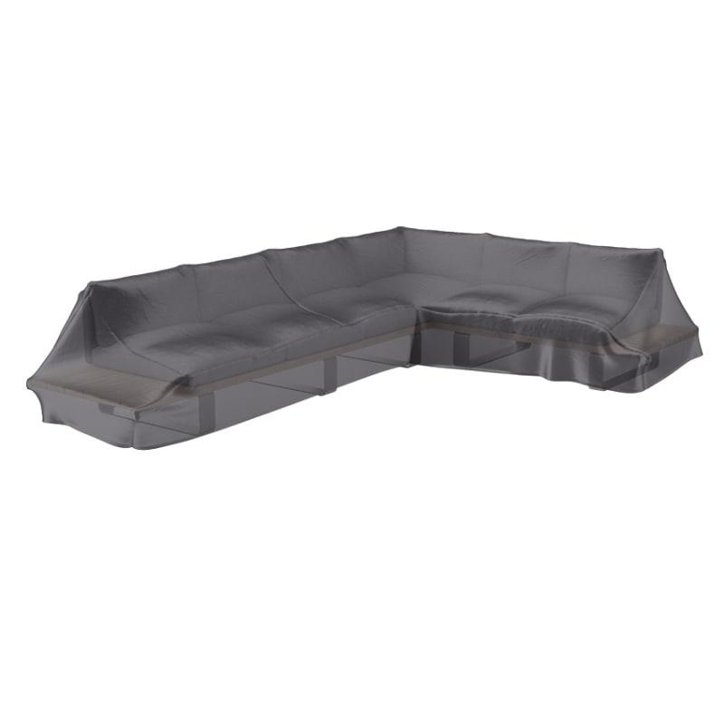 Housse de protection pour salon de jardin angle - L325 cm