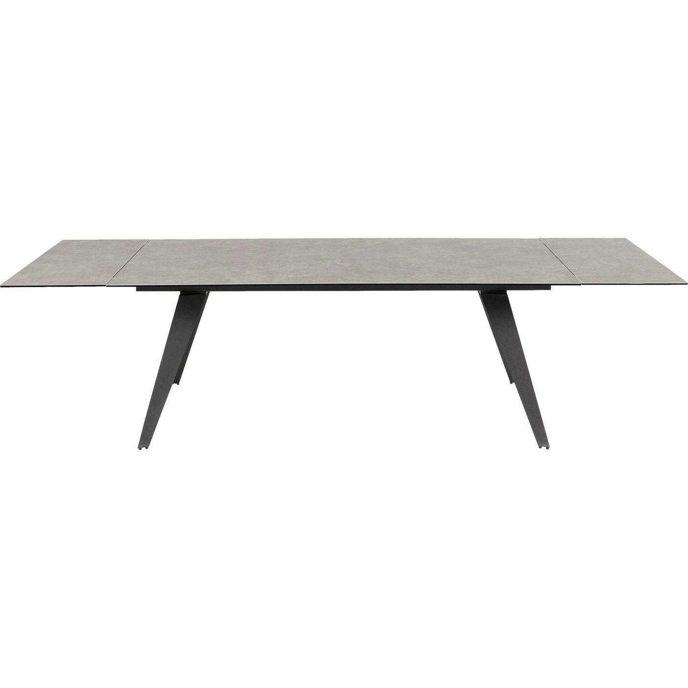Table à manger 6/10 personnes extensible marron L160/240