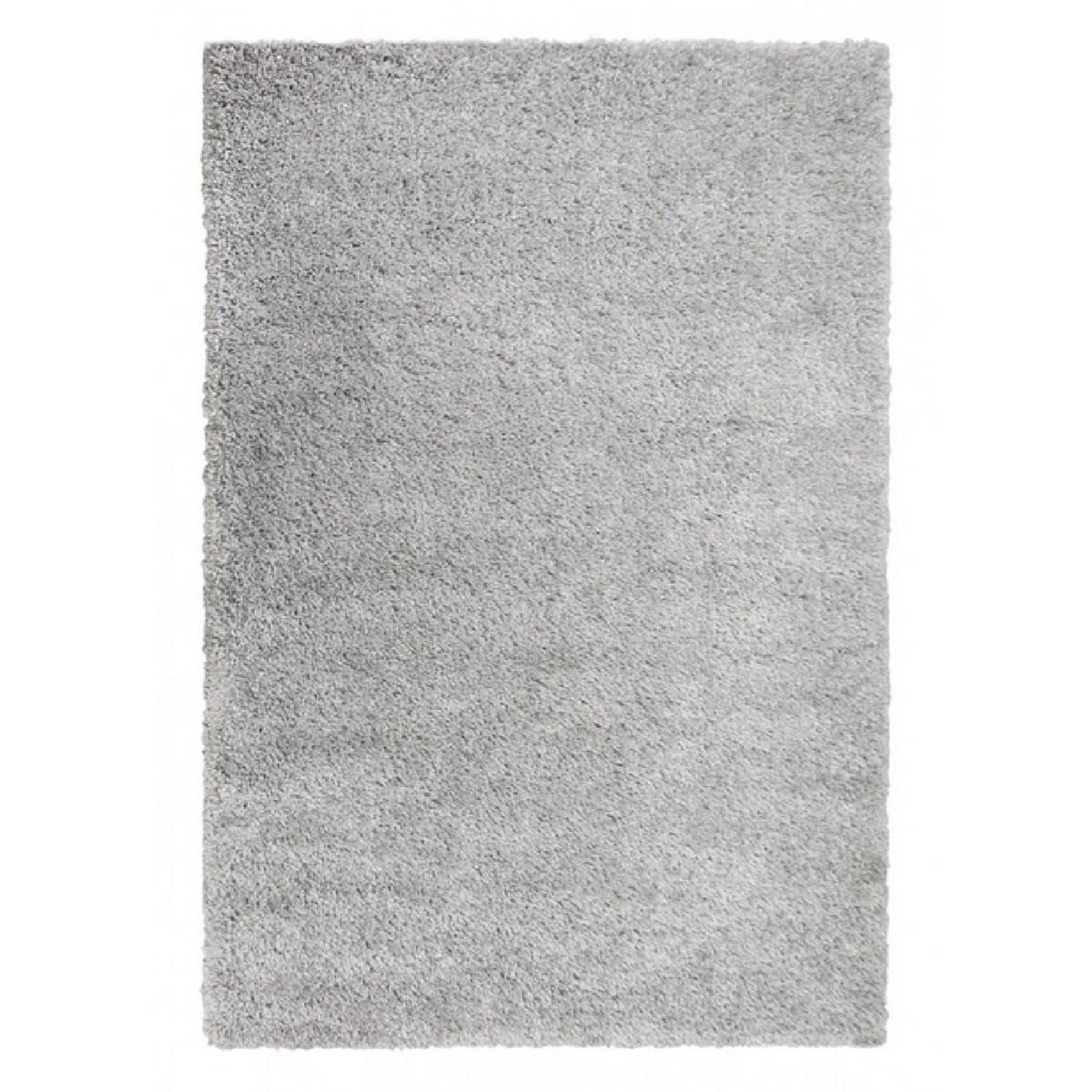 Tapis shaggy en Polypropylène Gris 160x230 cm