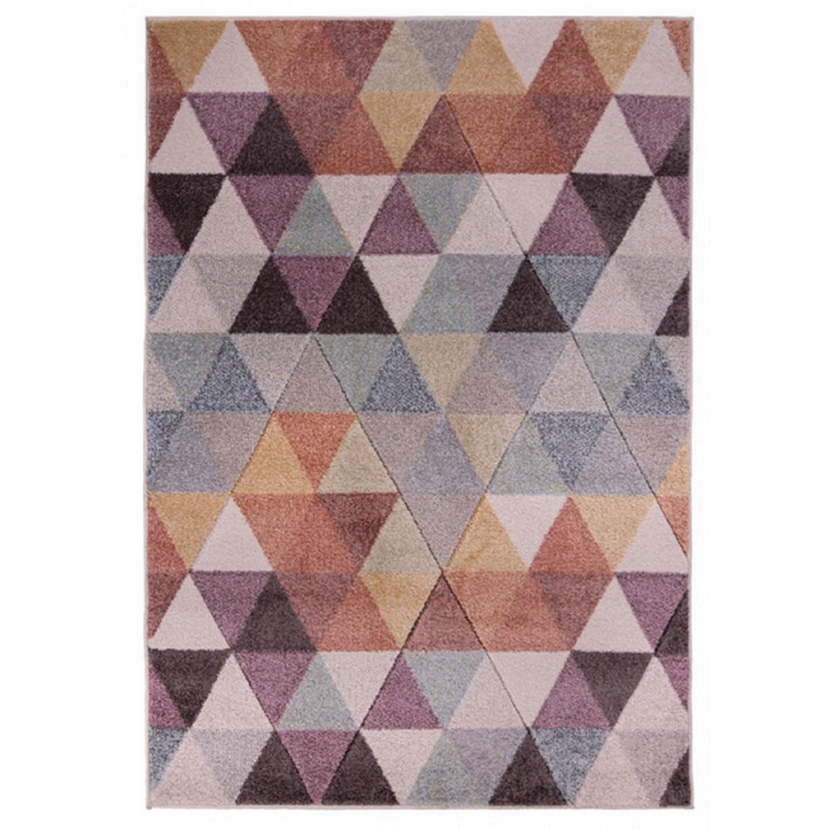 Tapis de salon en Polypropylène Multicolore 120x170 cm