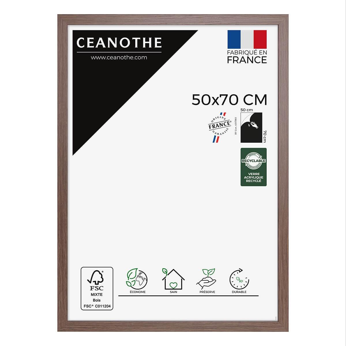 Cadre photo Nordique marron 50x70 cm
