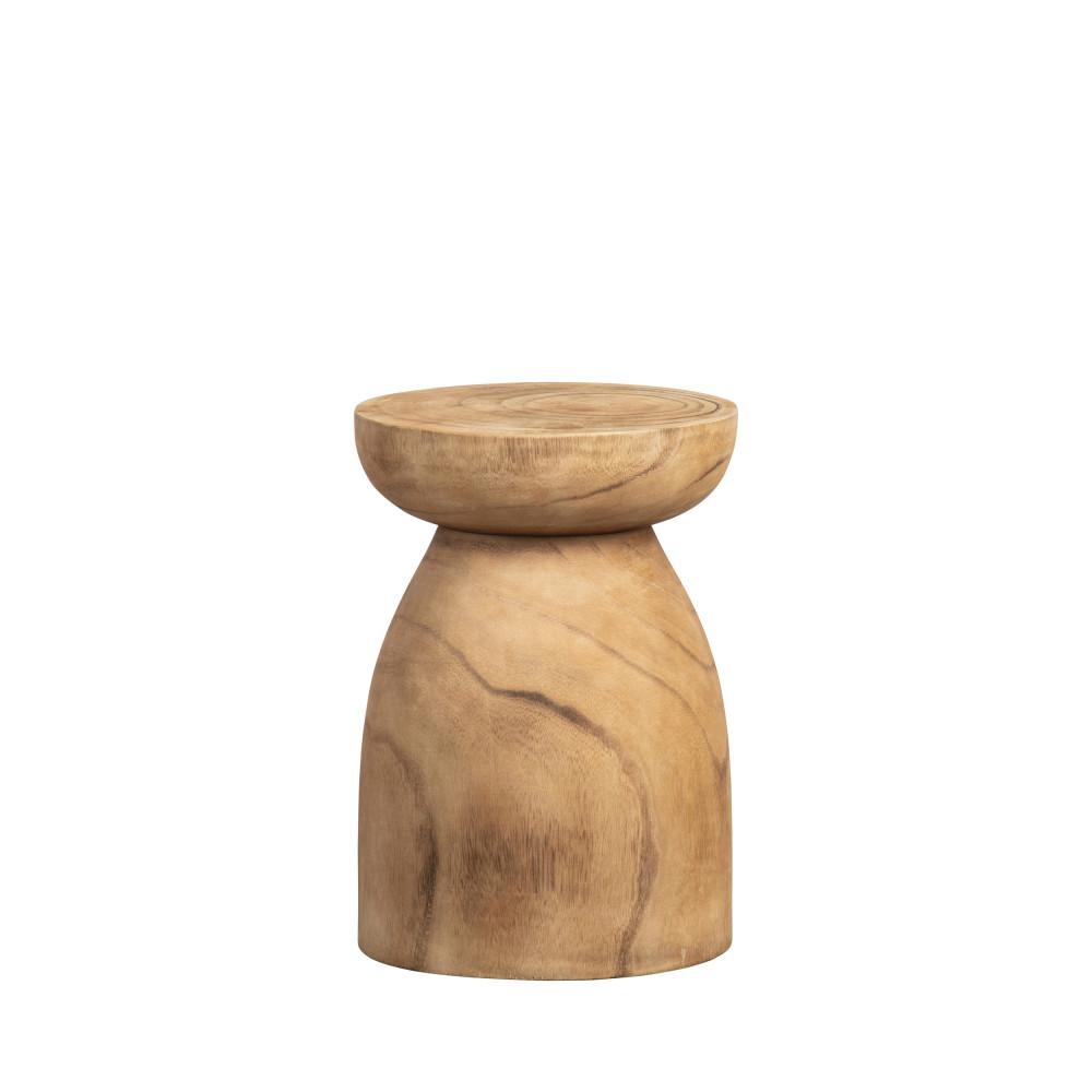 Tabouret en bois D28cm naturel