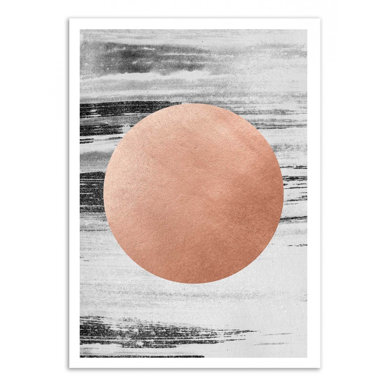ROSE GOLD - Affiche d'art 50 x 70 cm