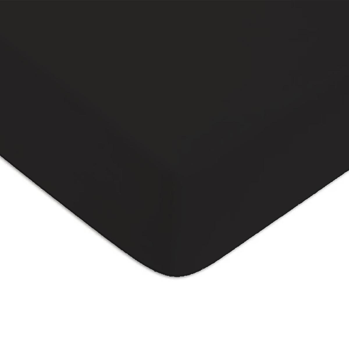 Noir 90x200cm 57 fils