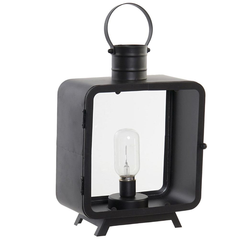 Lanterne décorative lumineuse transportable LED H38,5cm