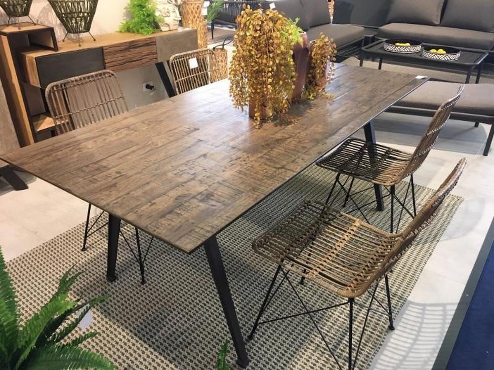 Table de repas interieur/exterieur