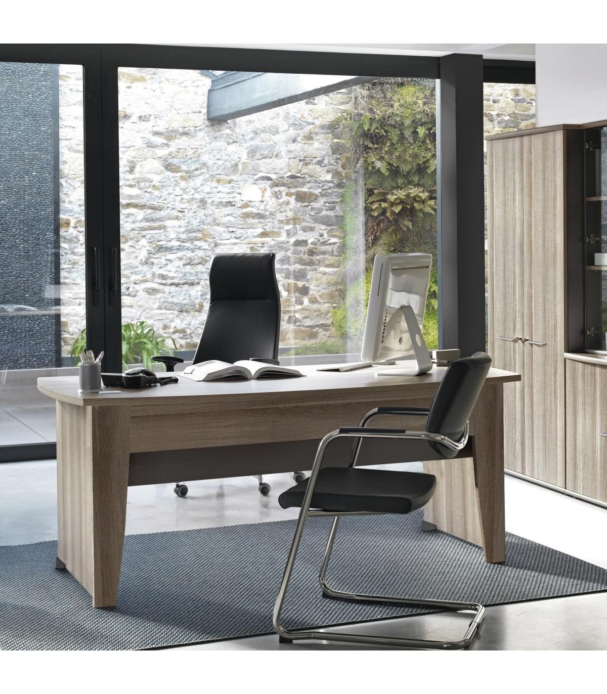 Bureau style industriel grande surface - Marron