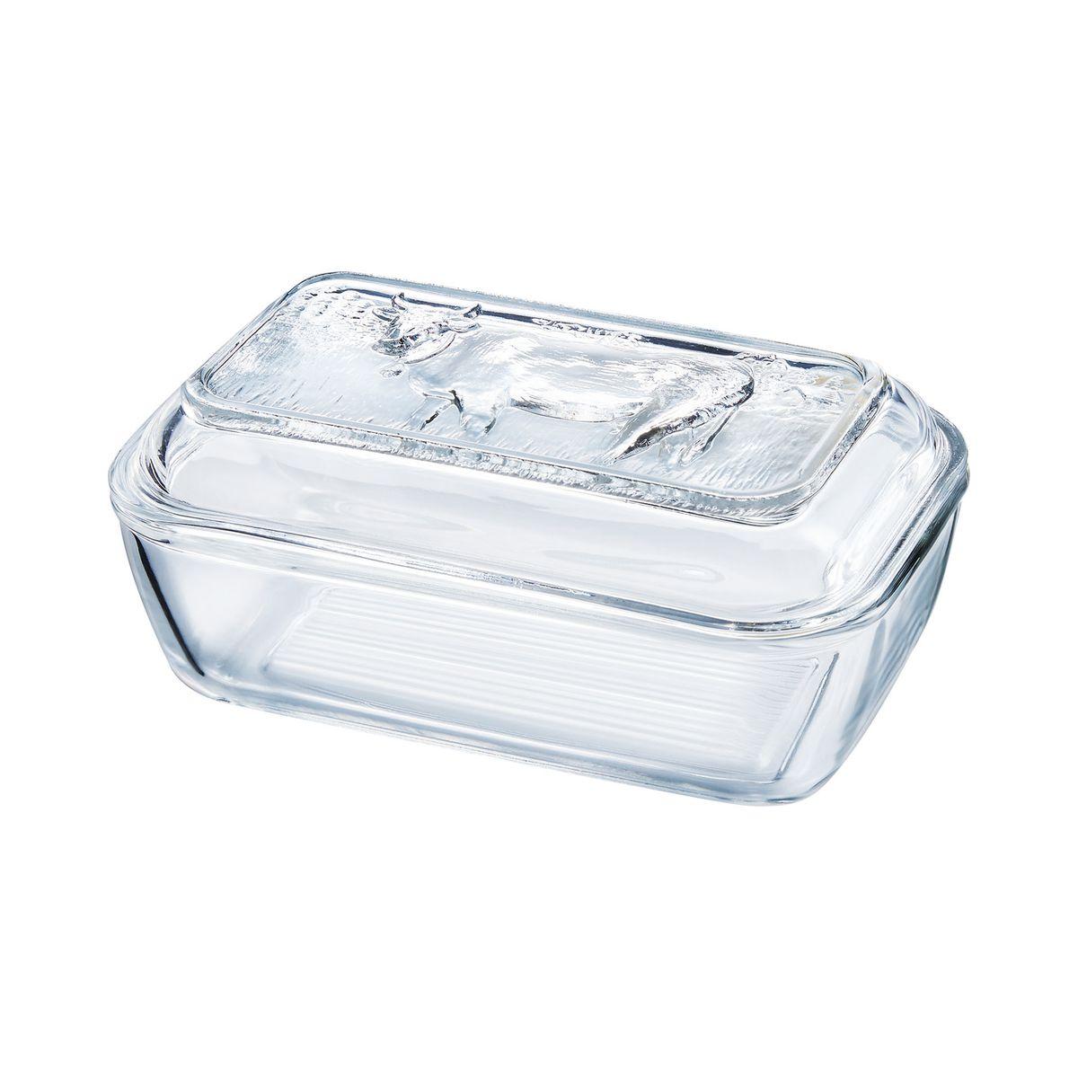 Beurrier en verre trempé extra résistant