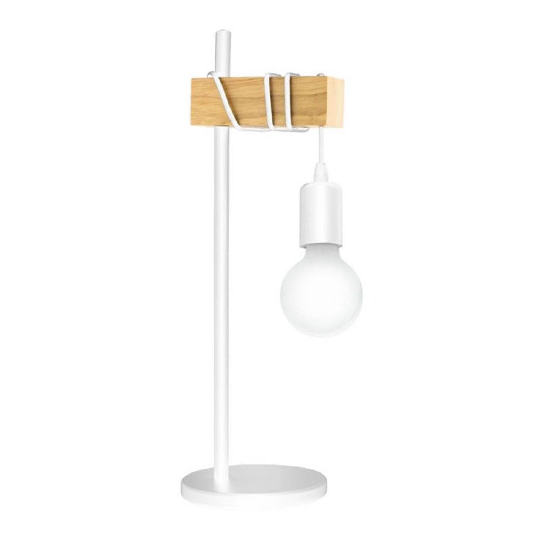 Lampe à poser bois H50cm