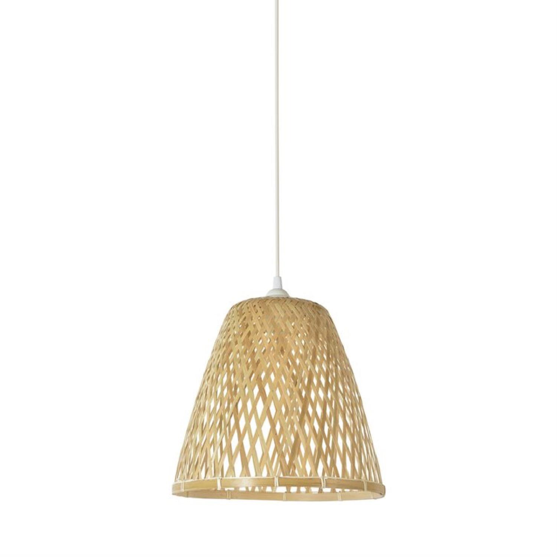 Suspension conique en bambou D30cm