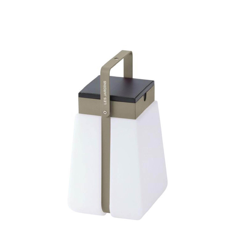 Lanterne d'extérieur LED solaire polypropylène/aluminium