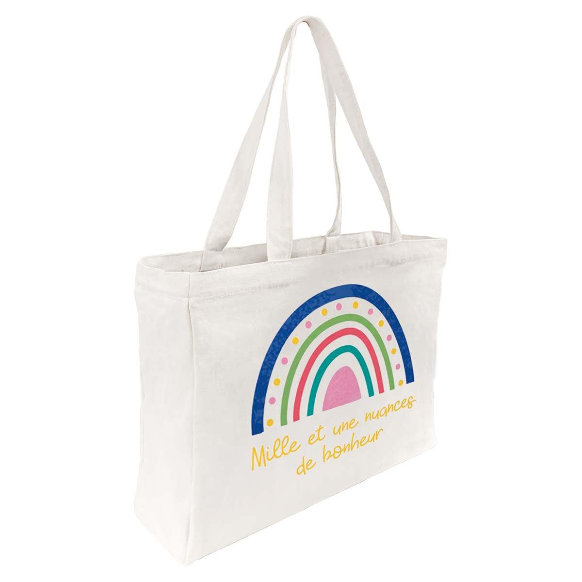 Tote Bag Coton Bonheur