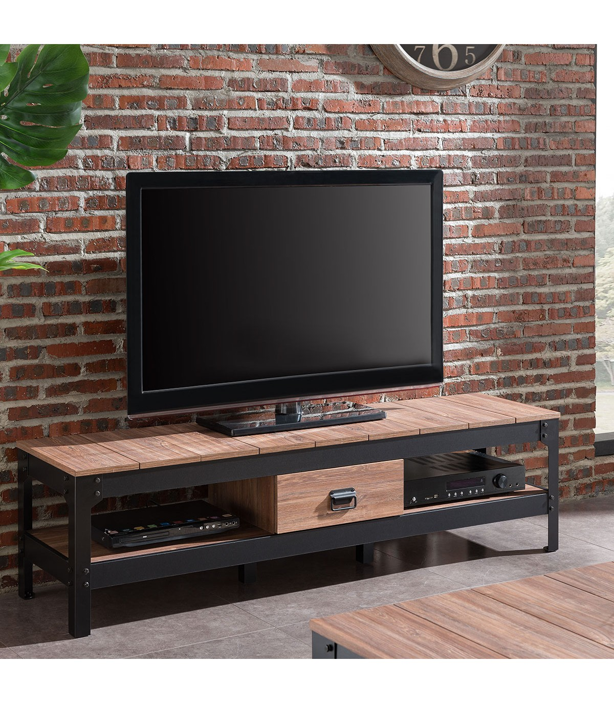Meuble TV Couleur Vieux chêne