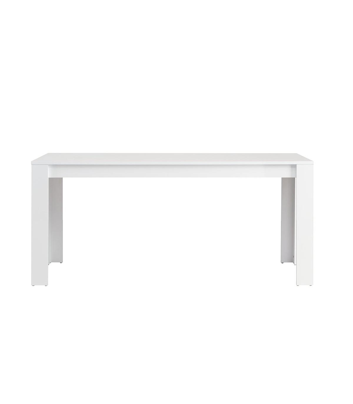 Table à manger 170 cm - 6 pers. - Blanc
