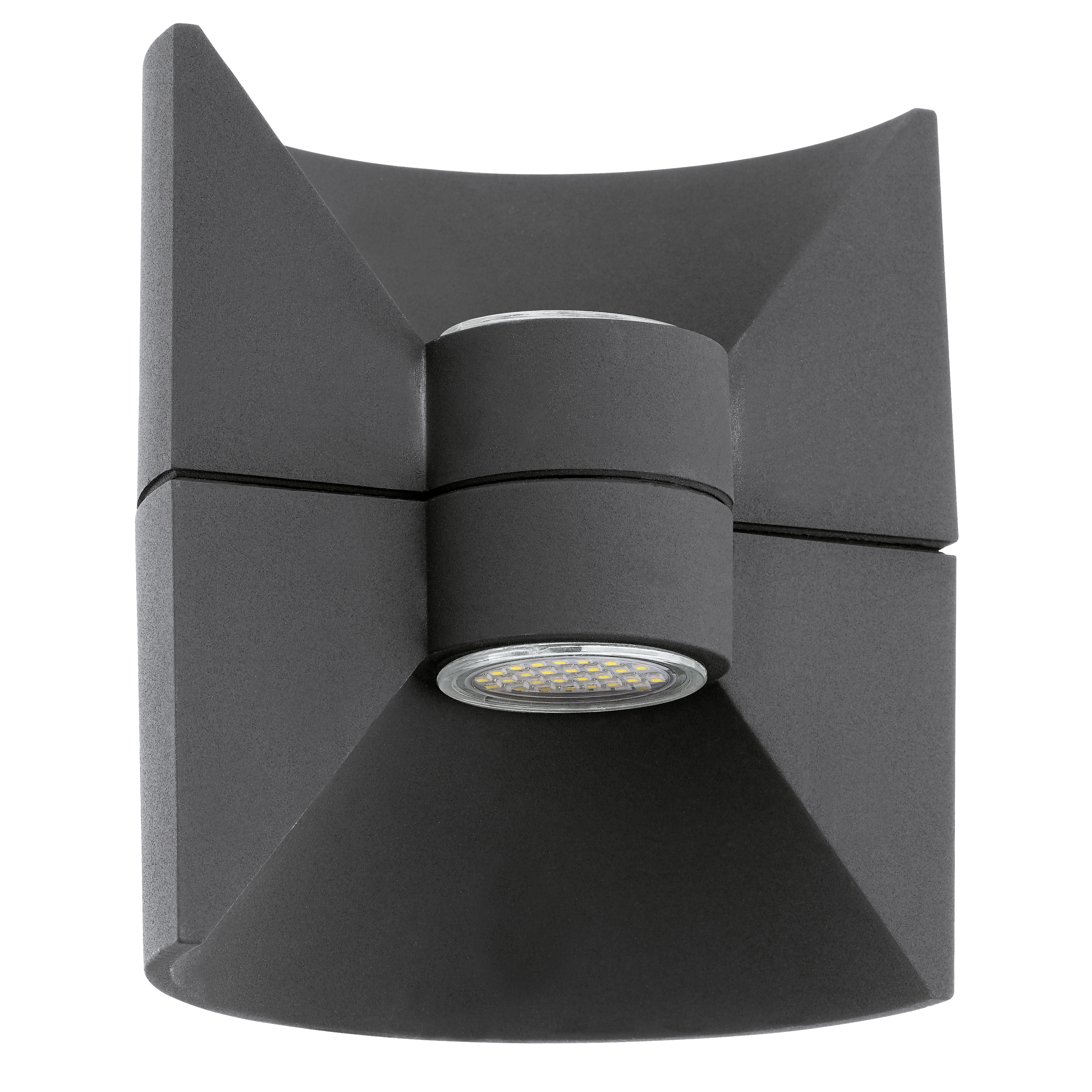 Applique d'extérieur LED 2 lumières aluminium H18cm