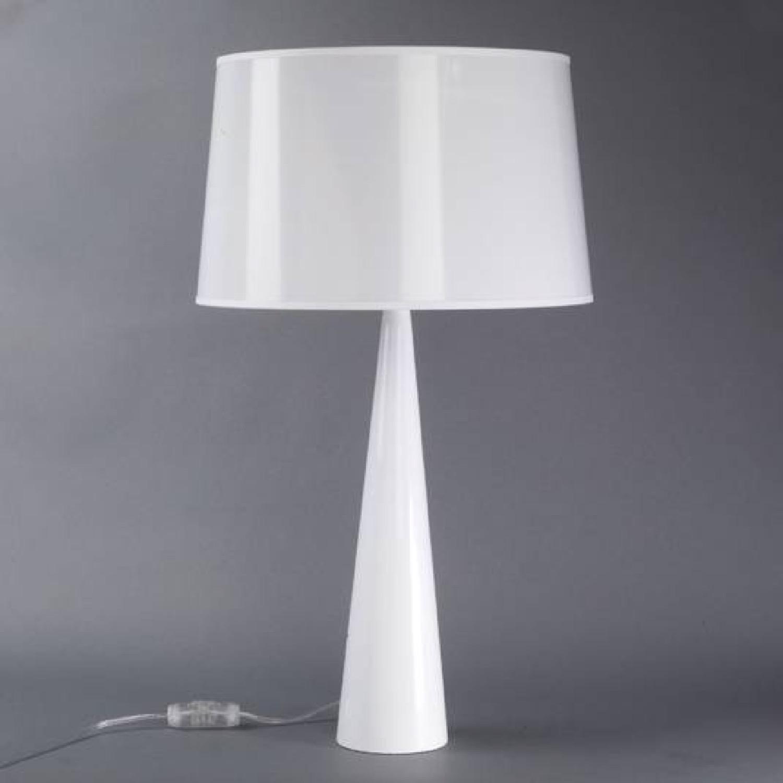 Lampe à poser chrome H58,5cm