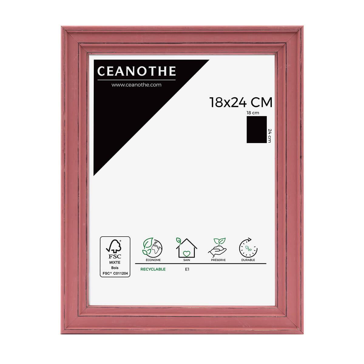 Cadre photo Belle-Ile rouge 18x24 cm