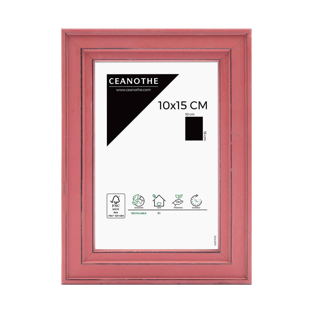 Cadre photo Belle-Ile rouge 10x15 cm