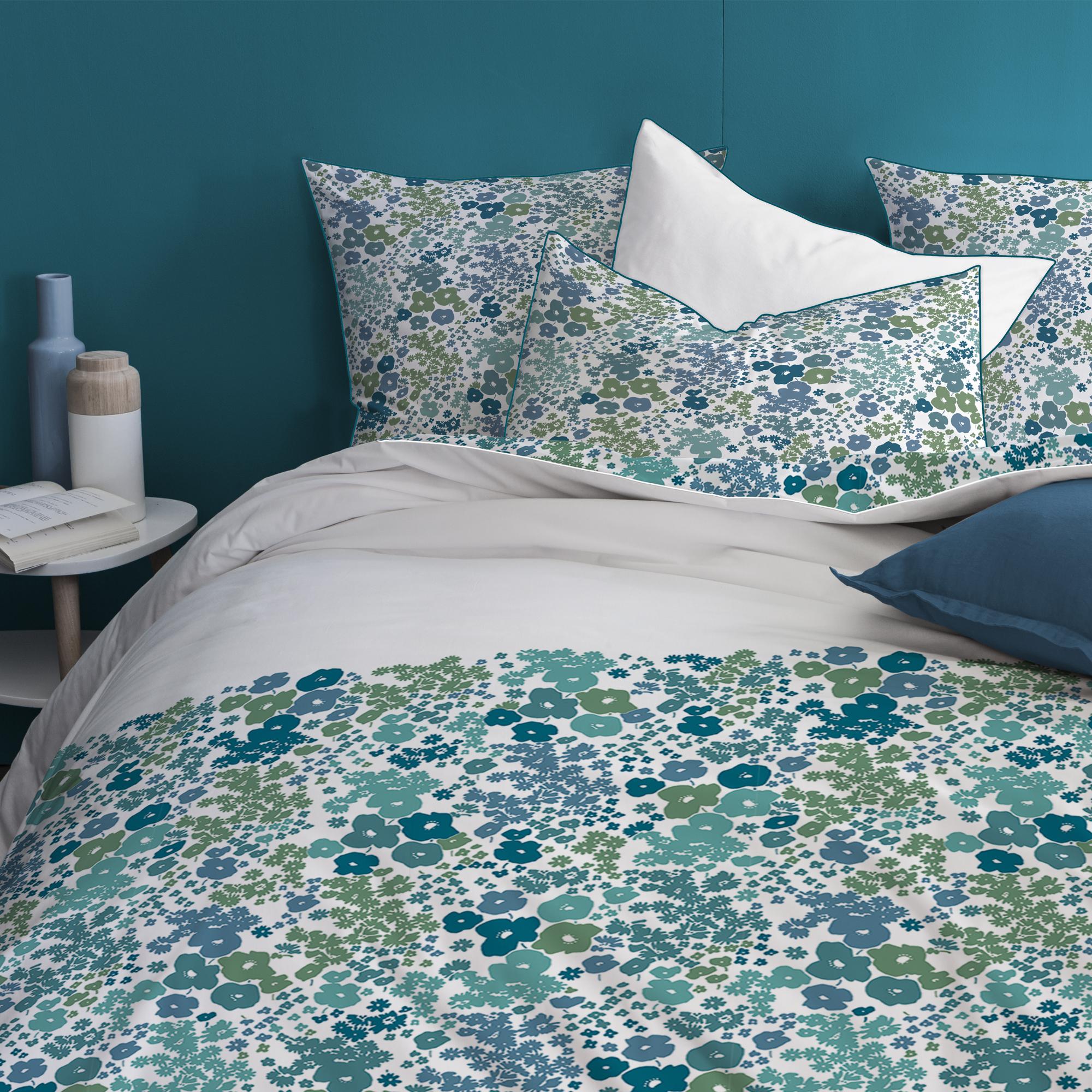 Parure de lit imprimée en coton 240x220 cm