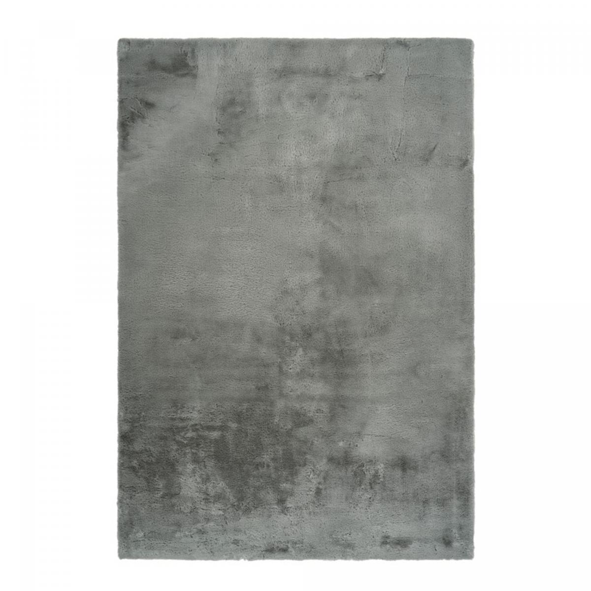 Tapis shaggy poils long en polyester vert 200x290