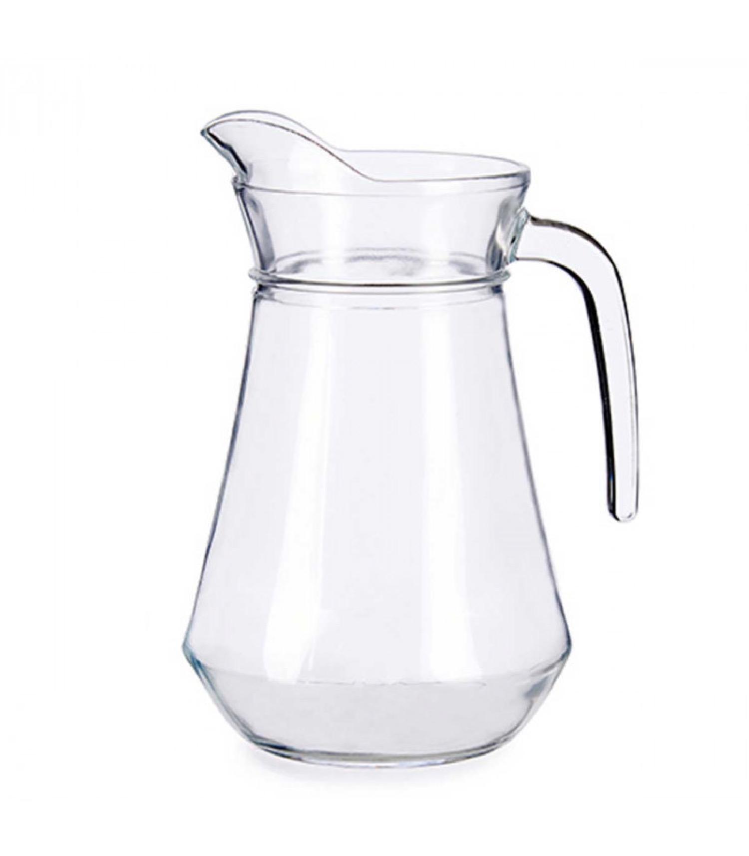 Pichet à eau ou jus en verre 1,3L