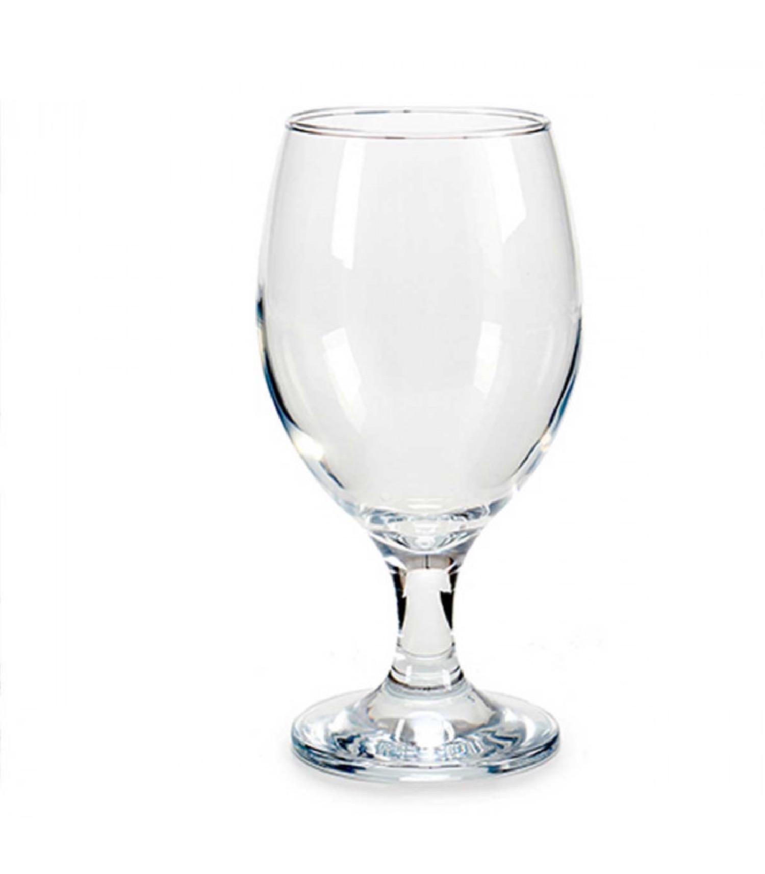 Verres à bière en verre type bistrot 400ml - Lot de 6