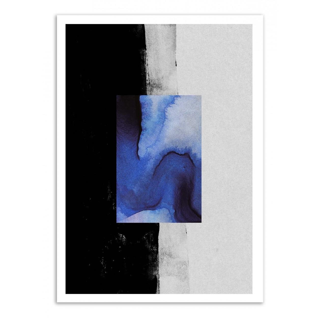 BLUE -  Affiche d'art 50 x 70 cm