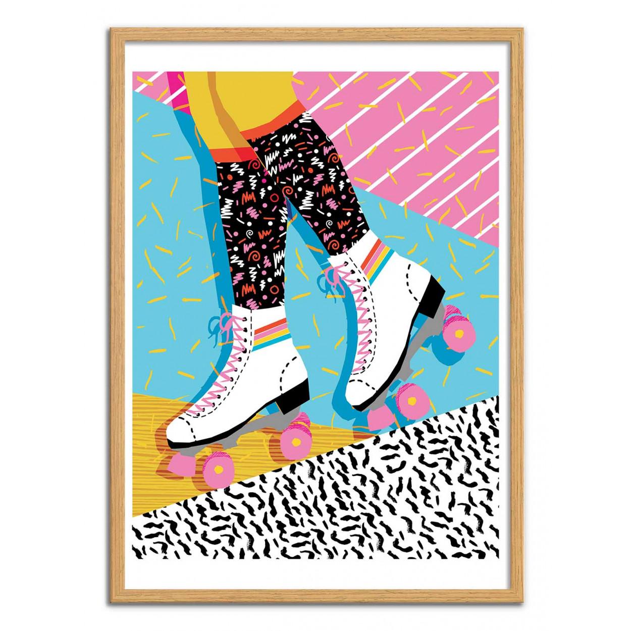STEEZE - Affiche d'art 50 x 70 cm