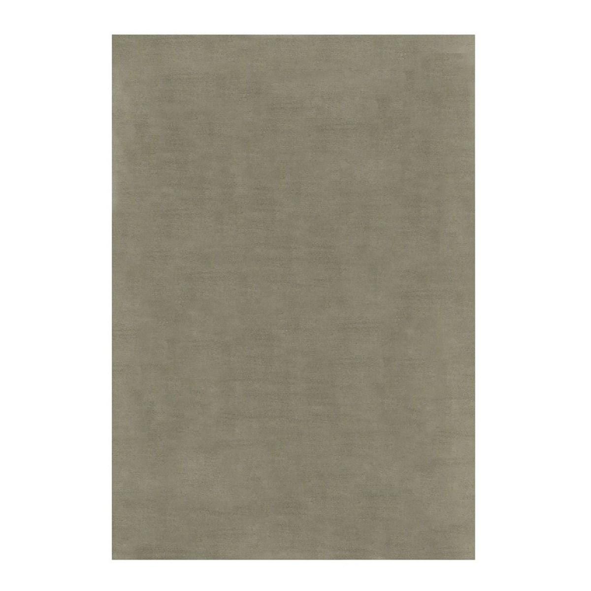 Tapis de salon moderne en Polyester Gris 80x150 cm