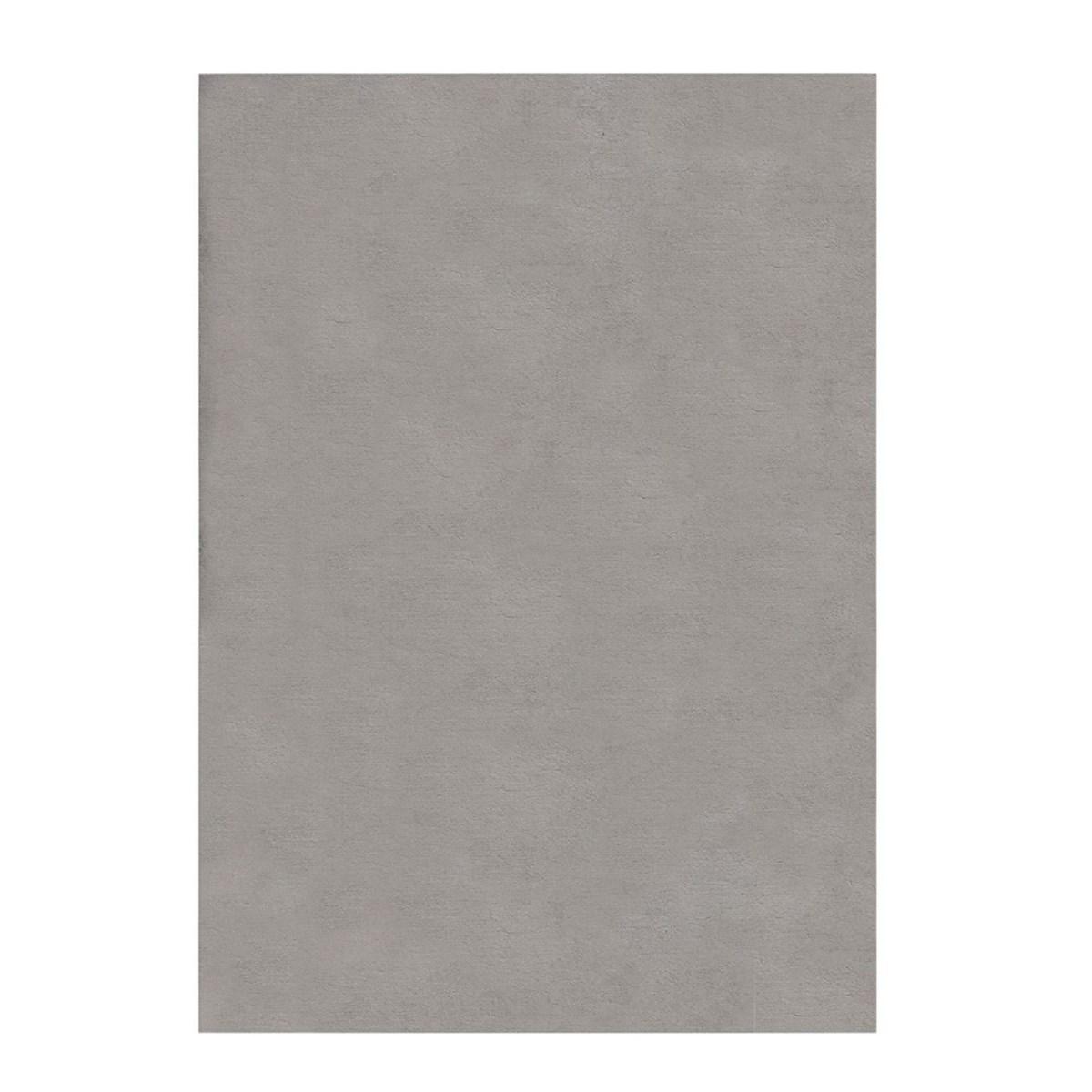 Tapis de salon moderne en Polyester Argent 80x150 cm