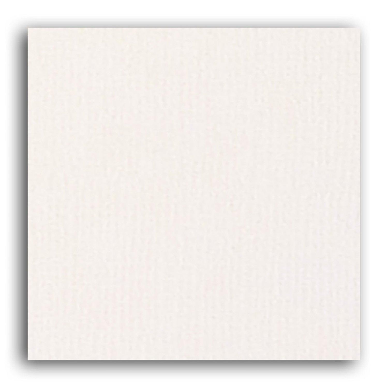Papier scrapbooking Mahé Blanc 30,5x30,5 cm