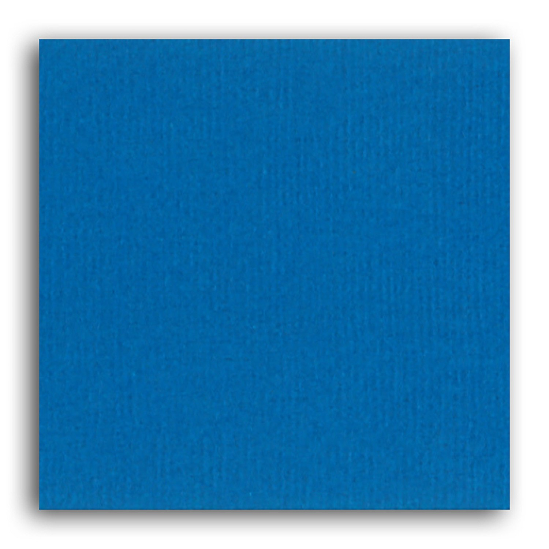 Papier scrapbooking Mahé Bleu Dur 30,5x30,5 cm