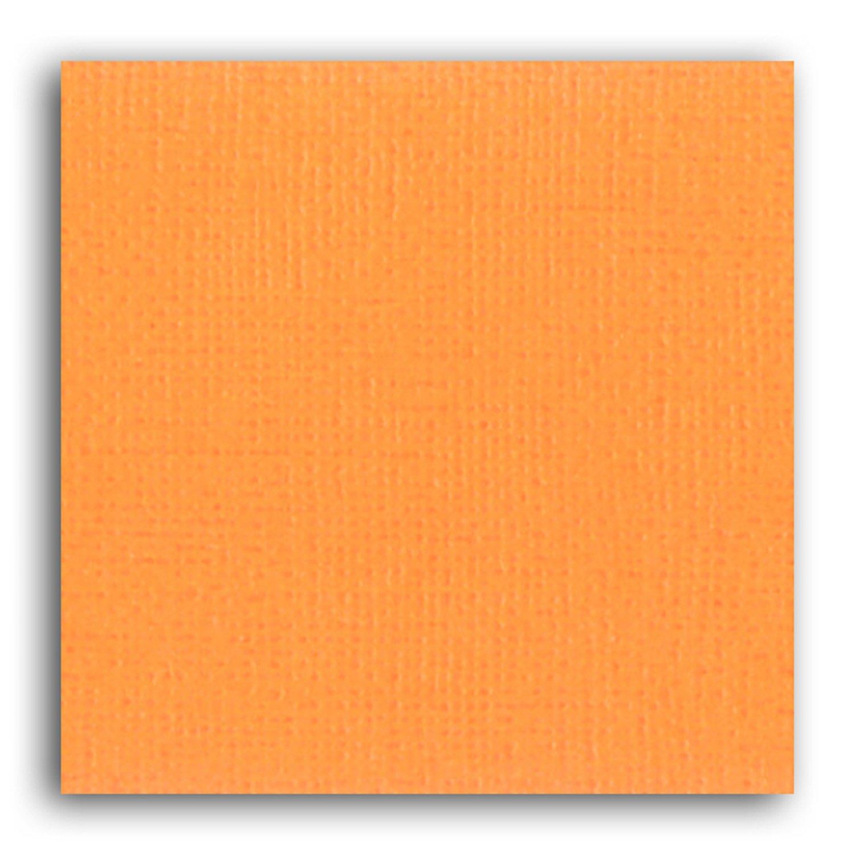 Papier scrapbooking Mahé Orange 30,5x30,5 cm