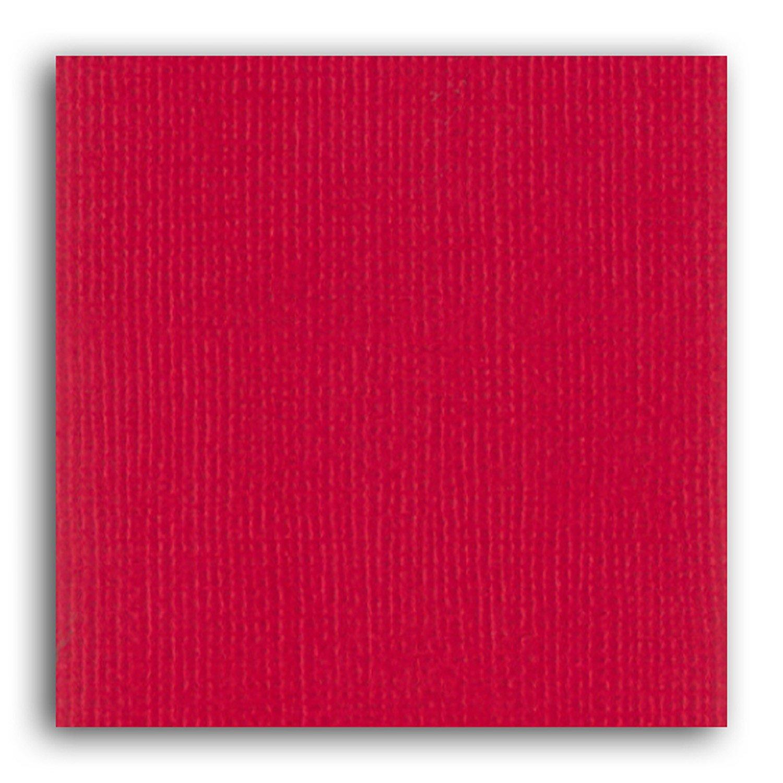 Papier scrapbooking Mahé Rouge 30,5x30,5 cm