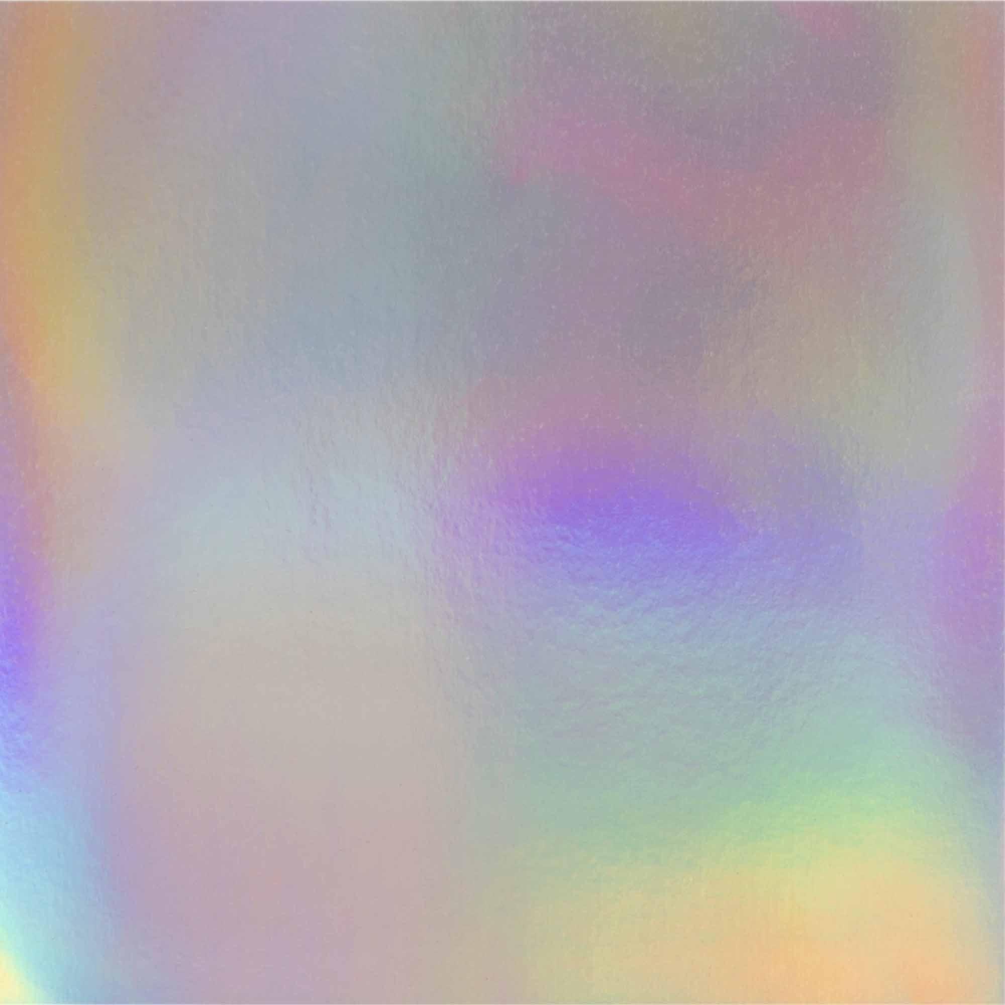Papier scrapbooking Mahé hologramme argent